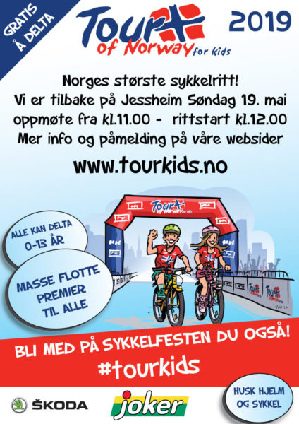 Tour of Norway for Kids Jessheim 2019